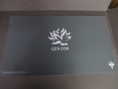 Gen Con 25th Anniversary Black Lotus Playmat NM