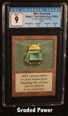 Mox Emerald Limited Edition CGC 9