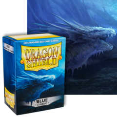 Dragon Shield: (100) Blue