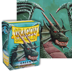 Dragon Shield: (100) Green