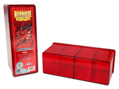 Dragon Shield: Storage Box 4 Compartments Red