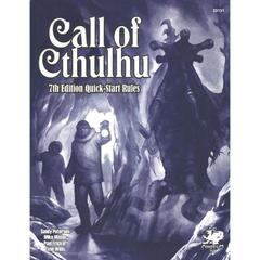Call of Cthulhu: Seventh Edition Quick-Start Rules