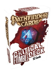 Pathfinder Gamemastery Critical Fumble Deck