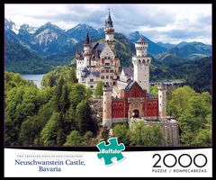 Puzzle: Neuschwanstein Castle 2000 Piece