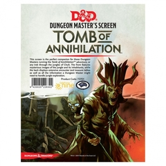 Dungeon Masters Screen: Tomb of Annihilation