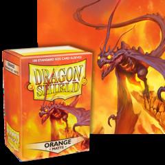 Dragon Shield: (100) Matte Orange