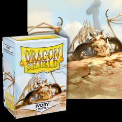 Dragon Shield: (100) Matte Ivory