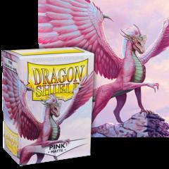 Dragon Shield: (100) Matte Pink