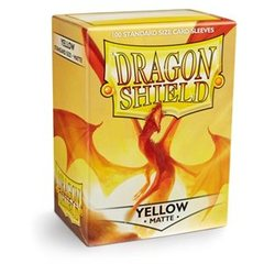 Dragon Shield: (100) Matte Yellow