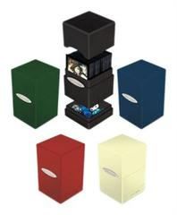 Ultra Pro Satin Tower Deck Box - Yellow