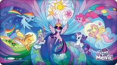 My Little Pony Playmat and Tube - Stained Glass