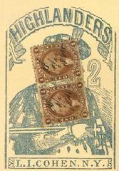 Cards: Highlanders 1864 Poker Deck