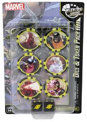 Marvel HeroClix: X-Men Xaviers School Dice & Token Pack (Time Displaced)