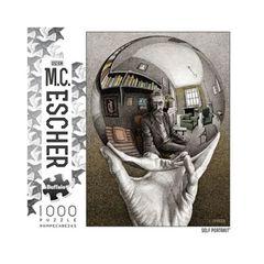 Puzzle: M.C. Escher Self Portrait (1000)