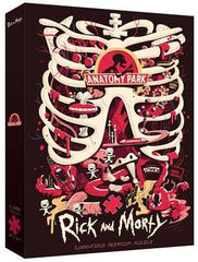 Puzzle: Rick and Morty Anatomy Park (1000)