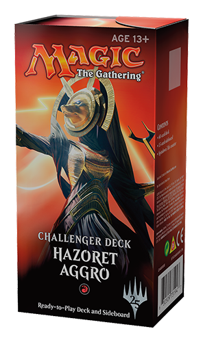 Magic the Gathering CCG: Challenger Deck Hazoret Aggro