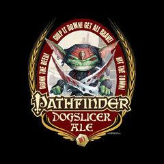 T-shirt - Pathfinder: Dog Slicer Ale