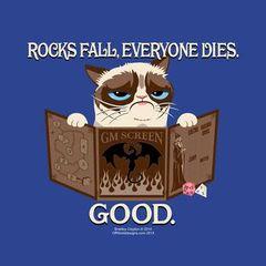 T-shirt - Rocks Fall