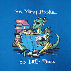 T-shirt - So Many Books - Youth