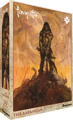 Puzzle: Frazetta Artwork: The Barbarian (1000 pcs)