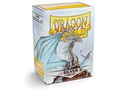 Dragon Shield: (100) Matte Silver