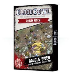 Blood Bowl: Goblin Double-Sided Pitch