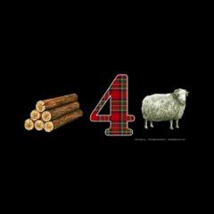 T-Shirt Wood 4 Sheep