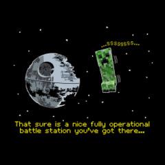 T-Shirt Creeper Death Star Youth