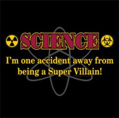 T-Shirt Super Villain Ladies V-Neck