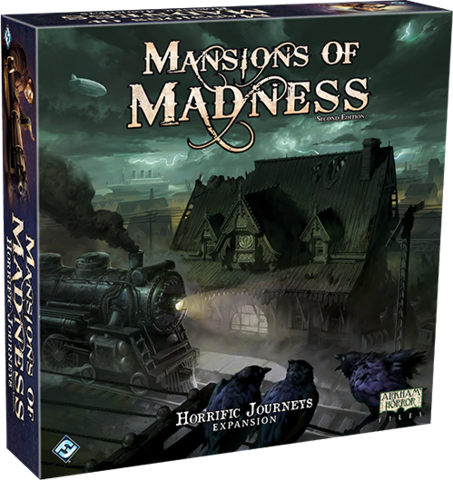 Mansions of Madness (Second Edition) - Horrific Journeys Expansion