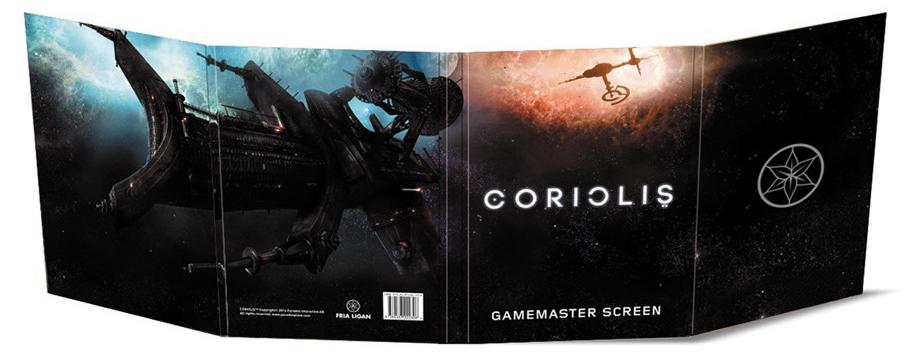 Coriolis: Game Master Screen