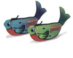 Happy Salmon Green/Blue