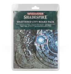 Warhammer Underworlds Shadespire Shattered City Board Pack