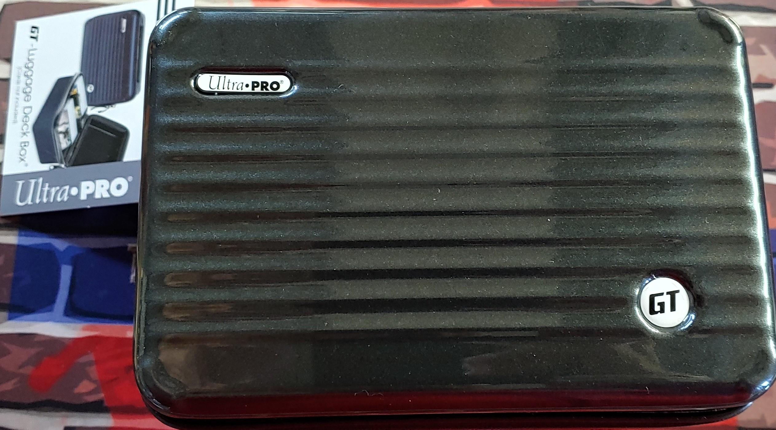 Ultra Pro GT - 200 Luggage Deck Box Black