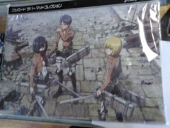 Attack on Titan Mat