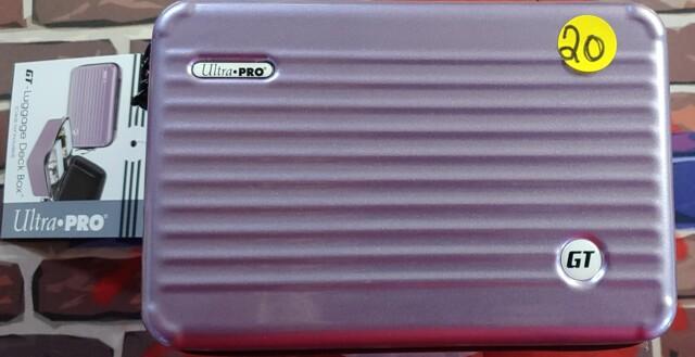 Ultra Pro GT - 200 Luggage Deck Box Purple