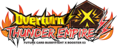 X Booster Pack Vol. 3: Overturn! Thunder Empire! Booster Box