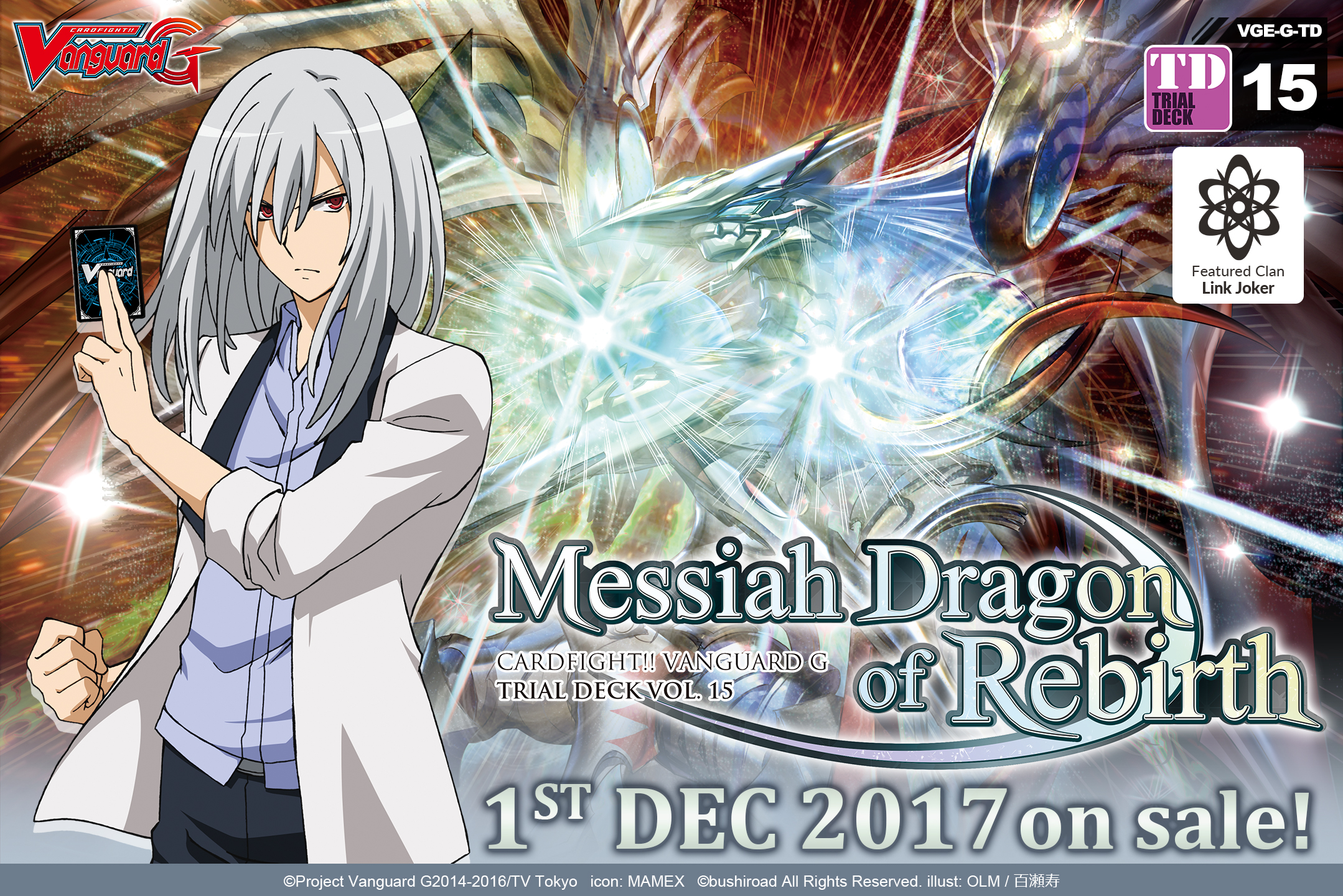 G Trial Deck Vol. 15: Messiah Dragon of Rebirth