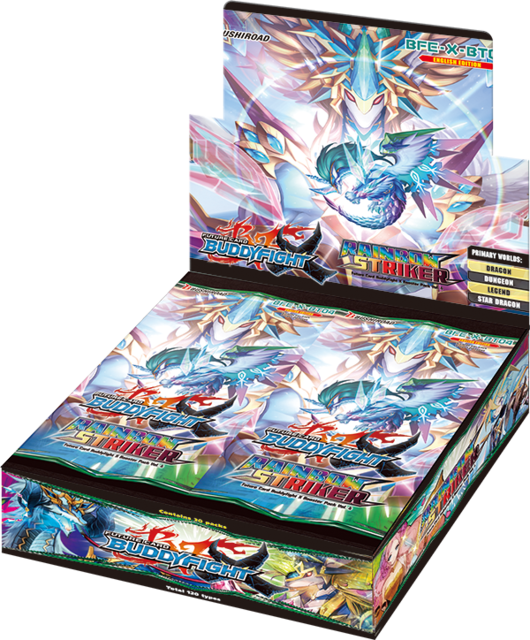 X Booster Pack Vol. 4: Rainbow Striker Booster Box