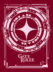 Gate Ruler Logo Sleeves (White) 002