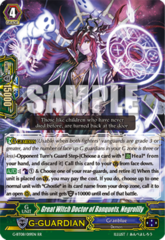 Great Witch Doctor of Banquets, Negrolily - G-BT08/019EN - RR