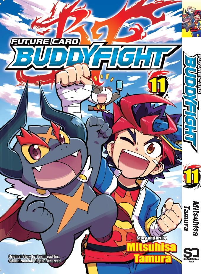 Buddy Fight Manga Vol. 11 (English)