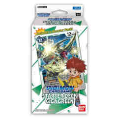 DIGIMON CARD GAME STARTER DECK: GIGA GREEN