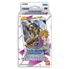 DIGIMON CARD GAME STARTER DECK: VENOMOUS VIOLET
