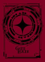 Gate Ruler Logo Sleeves (Black) 001