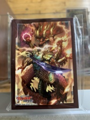 Dragon Empire OverDress Sleeves Dragon Deity King of Resurgence, Dragveda Vol 77