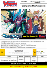 VG-V-EB02: Champions of the Asia Circuit Booster Box