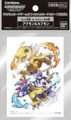 Digimon Card Game Official Sleeves - Agumon & Gabumon