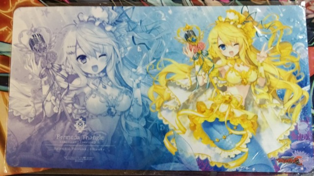 Bermuda Triangle Playmat Splendid Fortune, Shizuku