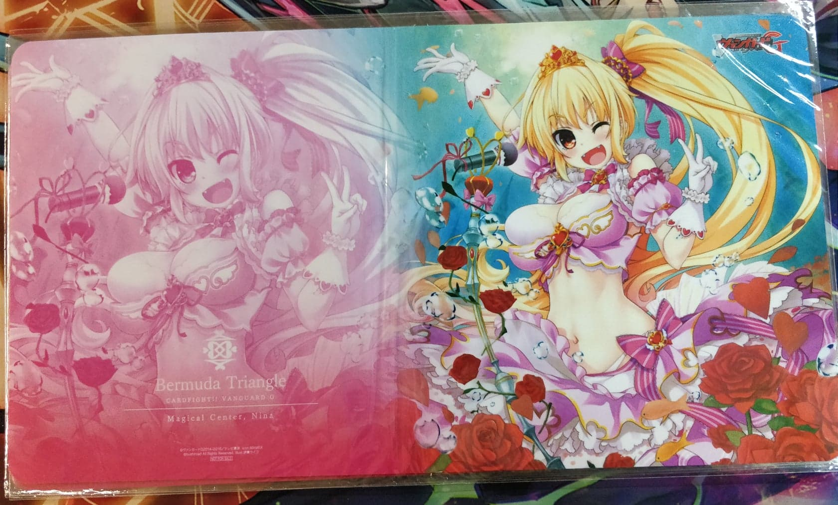 Bermuda Triangle Playmat Magical Center, Nina